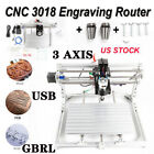 CNC 3018 PRO Machine Router 3 Axis Engraving PCB Wood DIY Mill+Laser Head USA