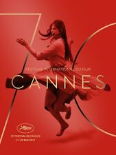 CANNES 2017 AFFICHE CINEMA Originale PLIEE 160x120 FOLDED MOVIE POSTER