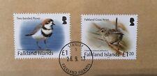 Falkland Islands 2017 Birds High Value VFU on Cover