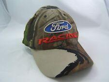 Ford Racing Nascar Camouflage Hat Camo Hook Loop Baseball Cap