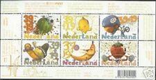 Nederland NVPH 2295 Vel Kinderzegels 2004 Fruit Postfris