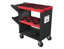 HSK100A Huot 13980 Tool Scoot HSK-A100 - CNC Tool Trolley - Holds 36 Tools