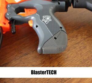 Stryfe Grip Extension 3d Printed for Nerf Blaster (Grey)