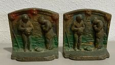 2 Cast Iron Book Ends (Anoelus)