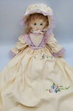 Vintage Embroidered Pillowcase Doll ~ Beautiful Embroidery!