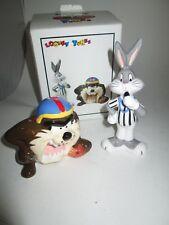 Looney Tunes Bugs Bunny & Taz Football Salt & Pepper 1993