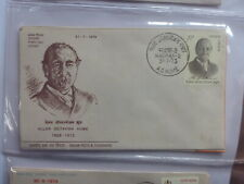 INDIA 1973 ALLAN OCTAVIAN HUME FDC FIRST DAY COVER MADRAS