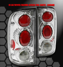 01-04 TOYOTA TACOMA PICKUP TRUCK TAIL BRAKE LIGHTS LAMP CHROME DLX SR5 PRERUNNER