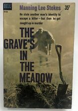 GRAVE'S IN THE MEADOW Manning Lee Stokes DELL Murder MYSTERY