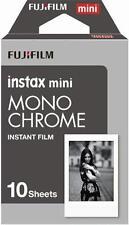 Fujifilm Instax Mini NOIR-BLANC Film pour 10 PHOTOS NEUF
