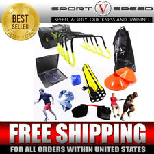 FOOTBALL & SOCCER SPEED AND AGILITY QUICKNESS TRAINING KIT | Instructional DVD