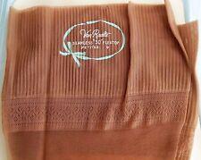 "Vintage Van Raalte Seamless 30"" Flextop Petite Nylon Stockings Size 9 Taupe"