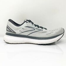 Brooks Womens Glycerin 19 1203431B085 Gray Black Running Shoes Lace Up Size 8 B