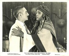 THE SHEIK (1921) Rudolph Valentino Pleads With His Friend Adolphe Menjou 8x10