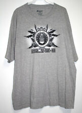 Academy Mens Size XXL T-Shirt Gray Air Force Logo Aim High Fly Fight Win S/S
