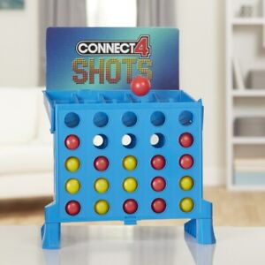 Connect 4 Shots Family Fun Game Challenge Travel Carry Fast Bounce Ball Row Grid