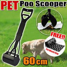 Pet Pooper Scooper Poop toilet training easy Squeeze Handle For Dog Waste POO OZ