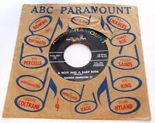 George Hamilton IV A Rose And A Baby Ruth 1956 ABC Paramount 9765 45rpm VG+