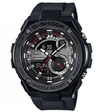 Casio Men's G-shock Gst210b-1a Black Rubber Quartz Watch