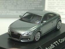Wiking Audi TT Coupe, grau metallic, dealer model, PC 422 - 1:87