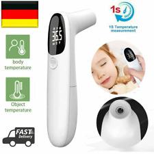 Digital Infrarot Fieberthermometer Stirn und Ohr Kontaktlos LCD Baby Erwachsene
