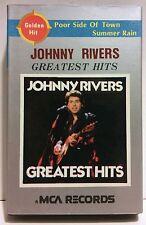 JONNY RIVERS GREATEST HITS - CASSETTE TAPE (KOREA) IMPORT MCA OASIS 1985 OMT3033