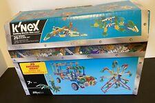 K'Nex 25 Model Building Set ~ 375 Pieces ~ 7+ ~ Deluxe ~Nib