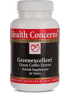 Health Concerns, Greenexcellent, 60 ct