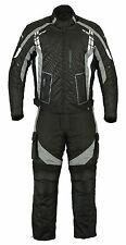 Motorrad-Lederbekleidung & -Kombis in Grau