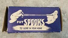 Unusual Antique Spooks Chrome Telescope Nylons Towel Bar You Need Just Pull Out