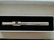 Sterling Silver Handcut Powell Signature Headjoint for Flute