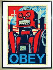 BONITO POSTER DE - Robot Obey - TAMAÑO 67X45 CMS