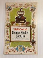 Vintage BETTY CROCKER'S COUNTRY KITCHEN COOKIES RECIPE BOOKLET~16 PAGES~1958