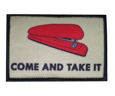 Red Stapler Come and Take It Office Space Tactical Morale Hook and Loop Patch