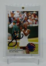 2003 Netpro Serena Williams Auto Card 07 / 50