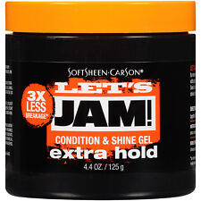 Let's Jam! Condition & Shine Gel - Extra Hold - 4.40 oz