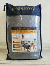 """Pendleton Weighted Lap Blanket, 27"""" x 30"""", 7 lbs,"""
