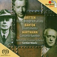 enjamin Britten - Bartók - Divertimento; Britten - Bridge Variations; [CD]