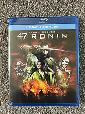 47 Ronin Blu Ray + DIGITAL HD *NEW in SEALED Package*