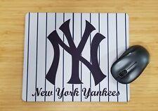 NEW YORK YANKEES Mouse Pad Baseball Computer Desk Laptop Pc Mat 9.4 x 7.9 in