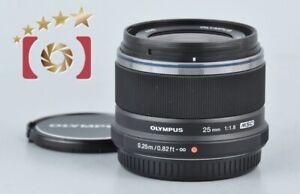 Excellent!! Olympus M.ZUIKO DIGITAL 25mm f/1.8 Black