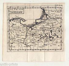 Ostpreußen-Preußen-Polen -  Karte-Map Puffendorf 1743 La Prusse-Polska-Poland