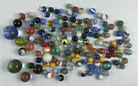 Marbles Lot Peltier Akro Agate Vitro  Alley Agate Marble King   ? ? Mixed 150