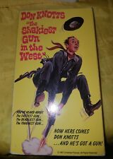 The Shakiest Gun in the West - Don Knotts (VHS)