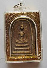 Sammlerstück,altes Amulett,Buddha paang samadhi auf dem 3stufigen Thron!!)