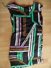 YESSICA Pure schönes Kleid grafisches Muster Gr. 34 NEU ZC1115