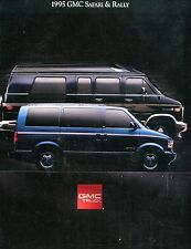 1995 GMC Safari & Rally Automobile Brochure EX 092016jhe
