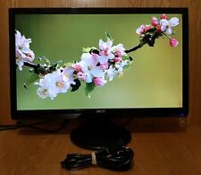 """Acer 23"""" inch Widescreen 1920x1080 HD DVI (HDCP) VGA Monitor with stand"""