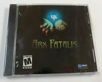 """""""BRAND NEW"""" Arx Fatalis PC 2002 FACTORY SEALED"""