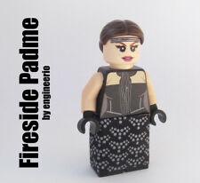 LEGO Custom - Fireside Padme Amidala - Star Wars minifigures anakin skywalker